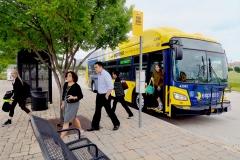 Electric HVAC Transit Bus