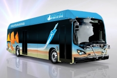 Antelope Valley Transit Assn 40 foot electric BYD