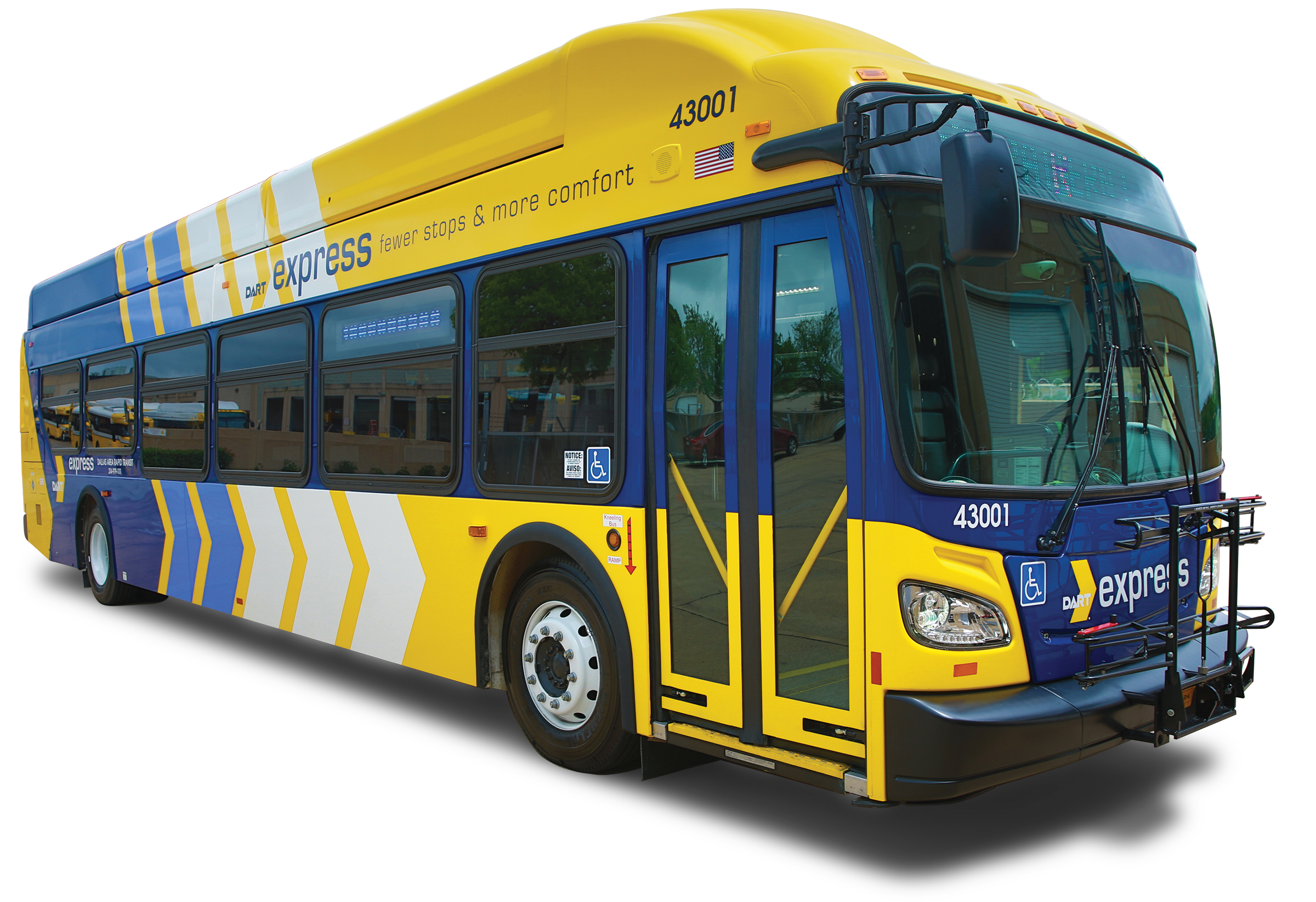 full electric ace219g : dallas area rapid transit  2016-2019 new flyer