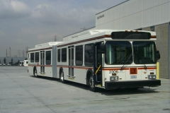 Long Beach Transit New Flyer articulated bus with SUTRAK AC238